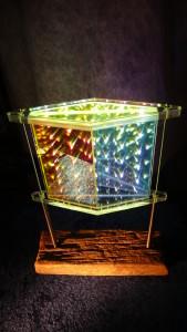 Zeitensprung Hologramm Objekt