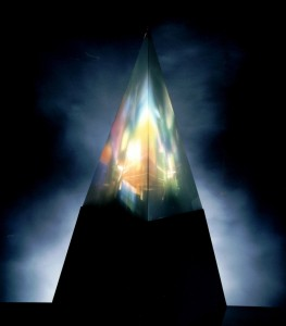 Light Painting Pyramide