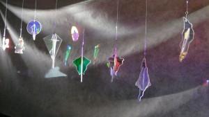 Mobiles aus Filterglas