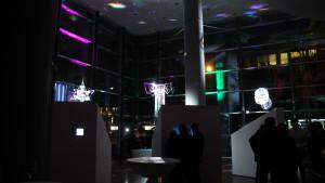 Atmosphäre im Foyer