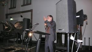 Die Eröffnungsrede hielt Herr Prof. Dr. Dr. h.c. Volker Mosbrugger